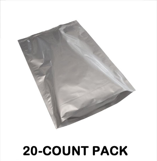 Picture of 5 Gallon 7-MIL Gusseted Zip Seal Mylar Bags (20-COUNT)