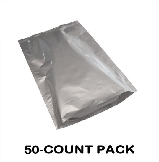 Picture of 5 Gallon 7-MIL Gusseted Zip Seal Mylar Bags (50-COUNT)