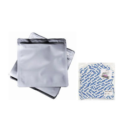 Picture of 2 Quart 7-Mil Zip Lock Mylar Bags plus 300 CC Oxygen Absorbers
