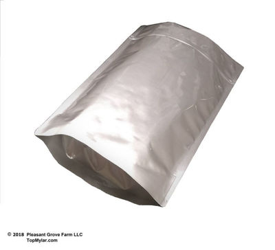 Picture of 2.5 Gallon 7-MIL Gusseted Zip Lock Mylar Bags