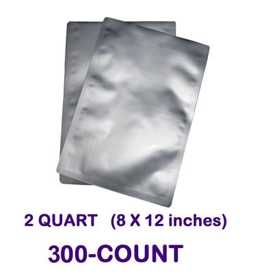 Picture of 2 Quart  7-Mil Standard Mylar Bag (300-COUNT)