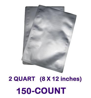Picture of 2 Quart 7-Mil Standard Mylar Bag (150-COUNT)