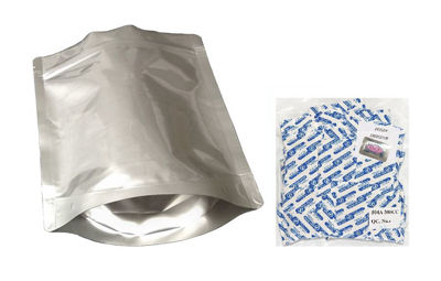 Picture of 1 Quart 7-Mil Gusseted Zip Lock Mylar Bag plus 300 CC Oxygen Absorbers