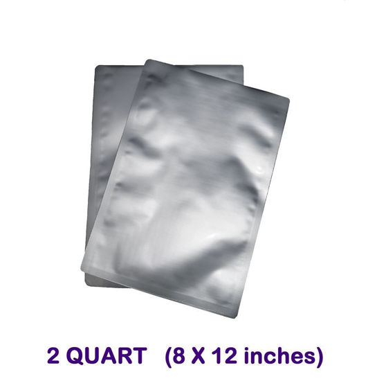 Picture of 2 Quart 7-Mil Standard Mylar Bags