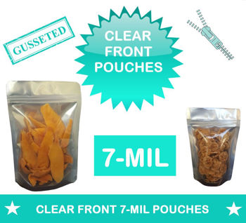 Picture for category CLEAR FRONT POUCHES