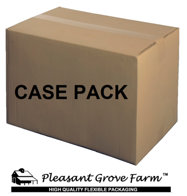 Picture of 1 Pint 7-Mil Gusseted Zip Lock Mylar Bag (BULK-CASE)