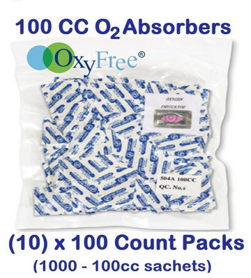 Picture of 100 CC O2 ABSORBERS (10) - 100 Count Packs