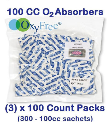 Picture of 100 CC O2 ABSORBER (3) - 100 Count Packs