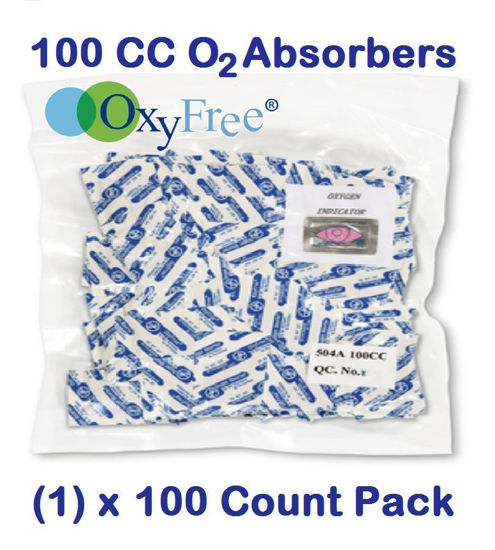 Picture of 100 CC O2 ABSORBERS (1) - 100 Count Pack