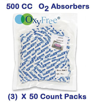 Picture of 500 CC  O2 Absorbers   (3) - 50 Count Packs
