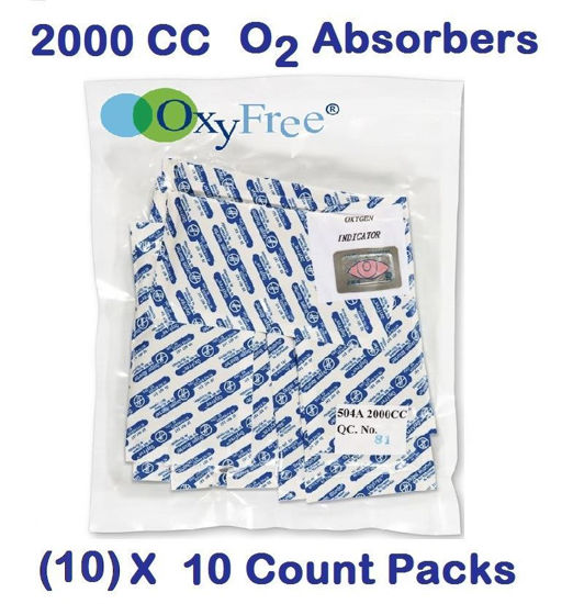 Picture of 2000 CC O2 Absorbers   (10) - 10 Count Packs