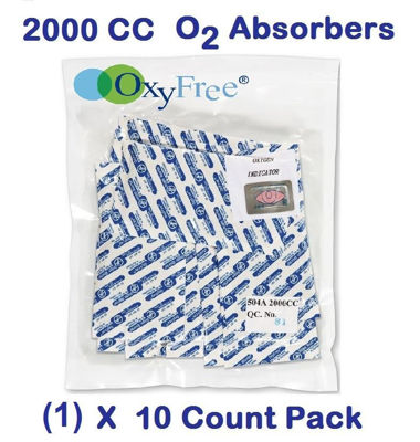 Picture of 2000 CC O2 Absorbers   (1) - 10 Count Packs