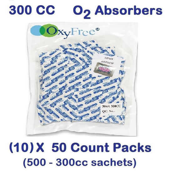 Picture of 300  CC O2 Absorbers   (10)  - 50 Count Packs