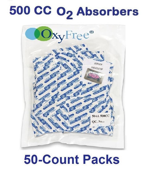 Picture of 500 CC O2 ABSORBERS (OXYFREE Brand)