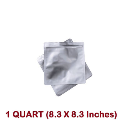 Picture of 1 Quart  7 Mil Mylar Zip Lock Bags