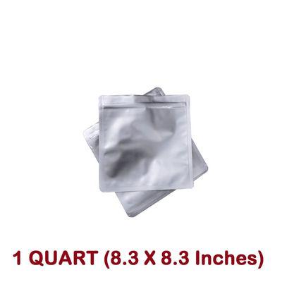 Picture of 1 Quart  7 Mil Mylar Zip Lock Bags