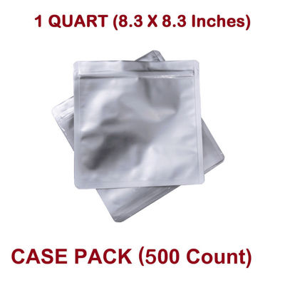 Picture of 1 Quart 7 Mil Mylar Zip Lock Bags (BULK-CASE)